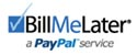 BillMeLater - a PayPal Service