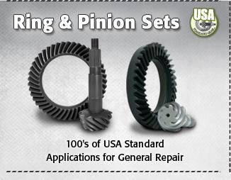 USA Standard Ring & Pinion Sets