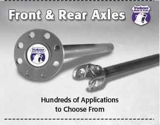 Yukon Front & Rear Axles