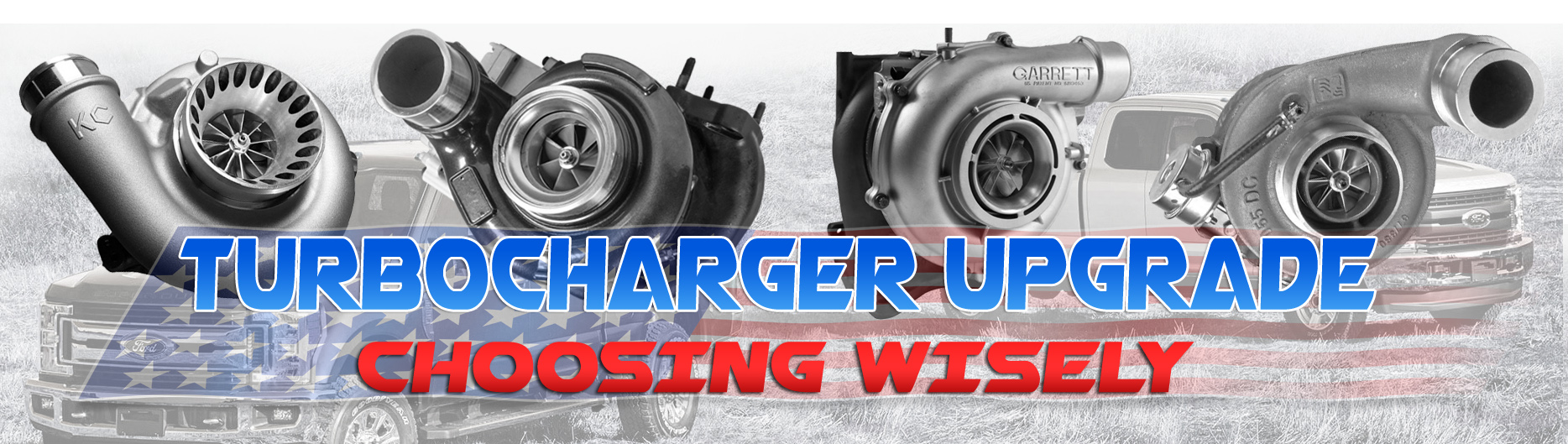 Upgrade your stock turbo to a performance diesel turbocharger