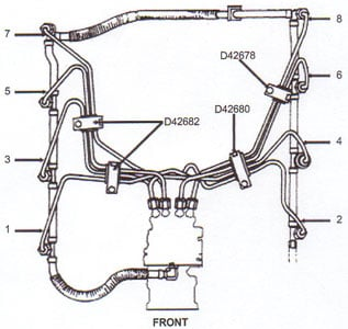 Fuel Injection Lines. Ford 69l 73l High Pressure Fuel Injection Lines. GMC. 1994 GMC Truck Fuel System Diagram At Scoala.co