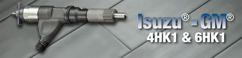 Isuzu 4HK1 & 6HK1 Injectors