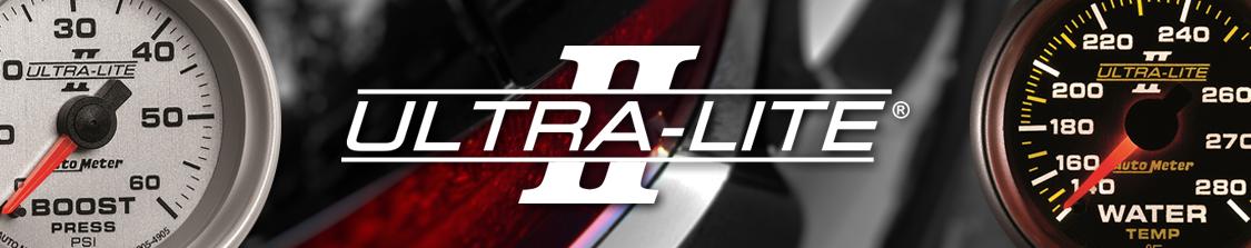 Auto Meter Ultra Lite II Series Gauges for 6.5L GM Turbo Diesel Trucks