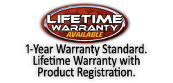 FASS Lifetime Warranty Available