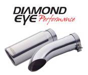 Exhaust Tips - 08-10 Ford 6.4L - Diamond Eye Exhaust Tips - 08-10 Ford 6.4L