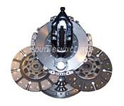 Heavy Duty Clutch Kits - 98.5-02 Dodge 24V - Street Dual Disc - 98.5-02 Dodge 24V
