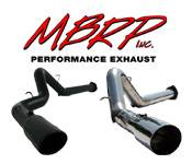 Exhaust Systems - GM Duramax LB7 - MBRP - GM Duramax LB7