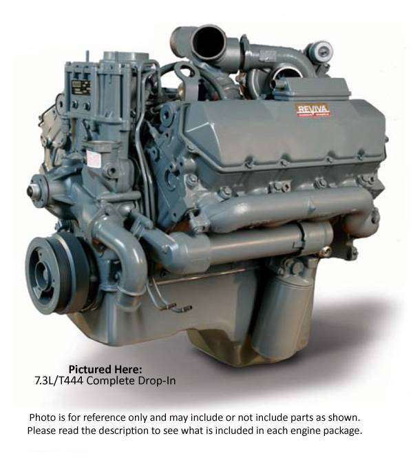 Reviva Complete Drop In Engine Ford 7.3L 59F6D225FF