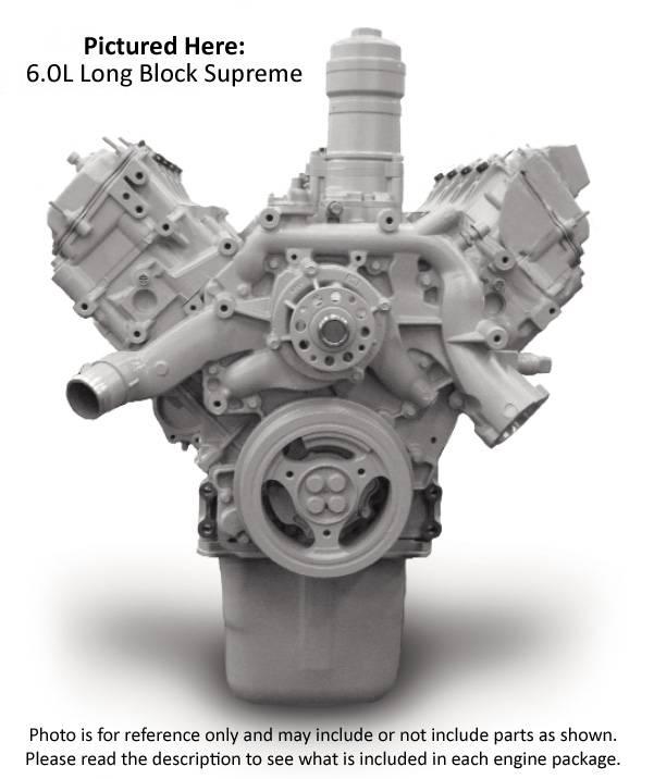 Reviva Long Block Engine - 2003 - 2004 Ford 6 0l Power Stroke F250
