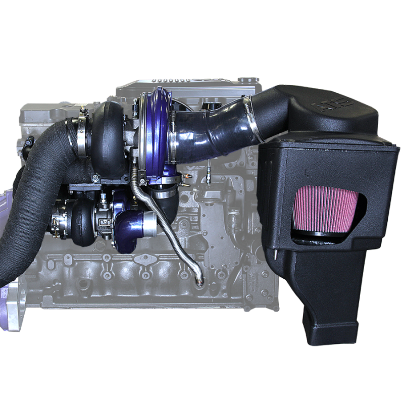 Pusher Cummins Compound Turbo: *NEW And IMPROVED* Aurora 3000/5000 Twin Turbo Kit