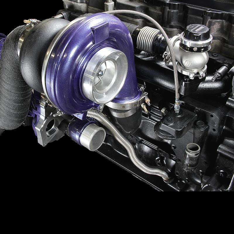 Diesel Turbo Kit : Ats new and improved aurora  twin turbo kit