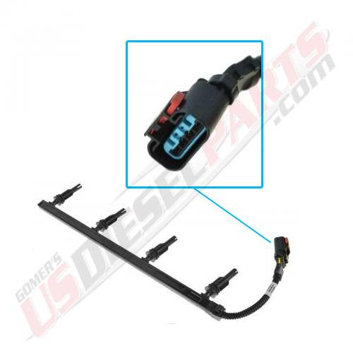 FORD - 2003-Early 2004 6.0L Glow Plug Harness (RIGHT)  Excursion Glow Plug Wiring Harness on