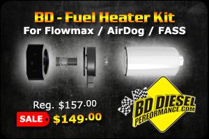 BD - Fuel Heater Kit