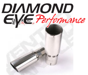 Exhaust Tips - GM Duramax LMM - Diamond Eye Exhaust Tips - GM Duramax LMM