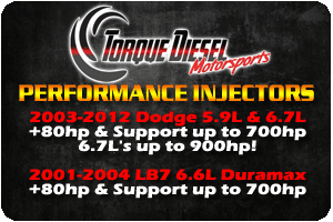 TDM - NEW INJECTORS!
