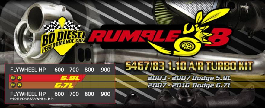 BD - Rumble-B Turbo Kit