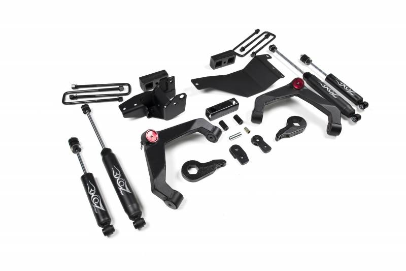 c32 zone offroad 3 adventure series lift system 2001 10 chevy gmc 2500hd 3500hd 4wd c32