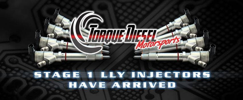 Torque Diesel Motorsports LLY Injectors