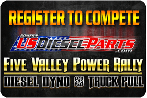2017 Five Valley Power Rally Pre-Registration