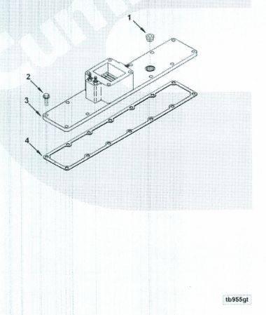 3926381  One Piece Grid Heater Plenum   Plate  8998
