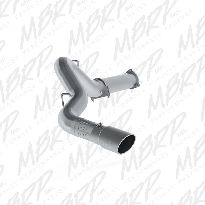 mbrp - 5 u0026quot  stainless dpf back exhaust kit