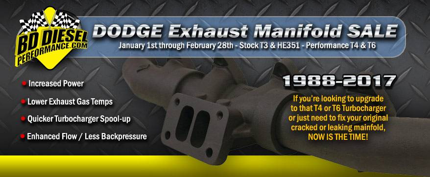 BD - Dodge Exhaust Manifold Sale