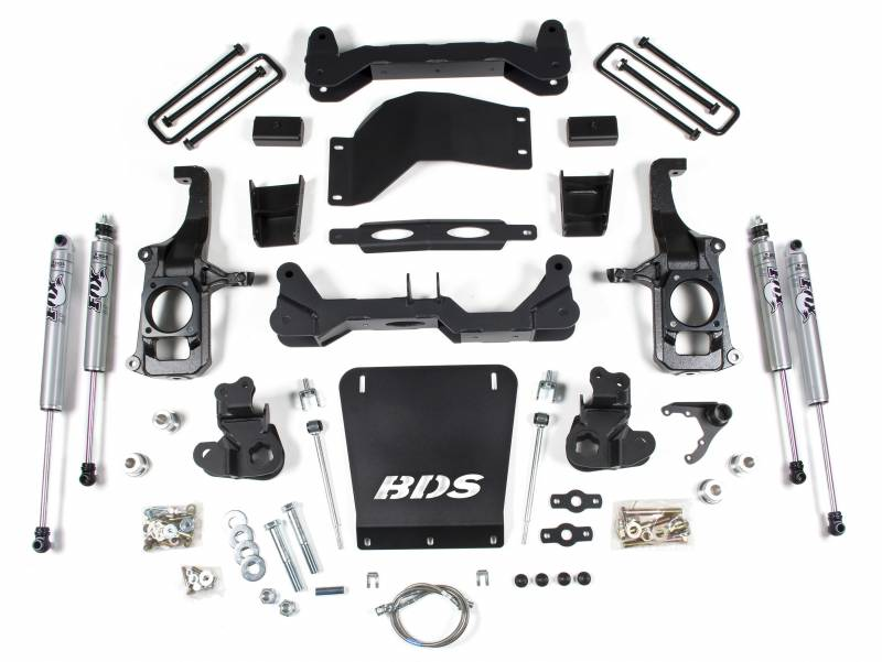 4 1 2 Suspension Lift Kit Fox Shocks 11 19 Chevy Gmc Hd