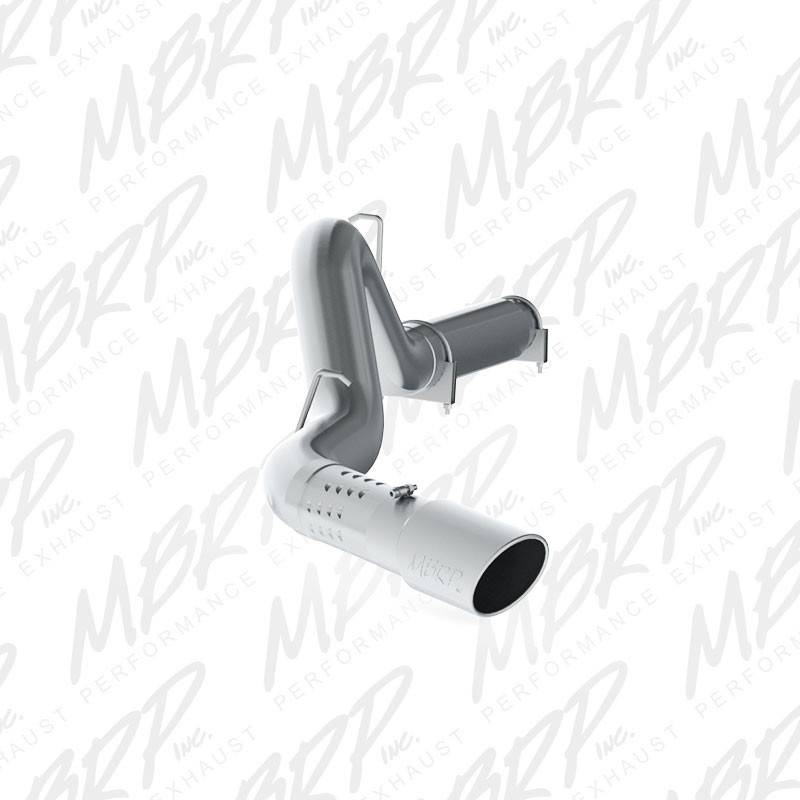 mbrp - 5 u0026quot  aluminized dpf back exhaust