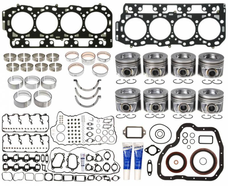Set of Left /& 2 Right 1 GMC Chevy Duramax 6.6L Cylinder Head Gasket 1.00MM B Thickness LB7 LLY 1