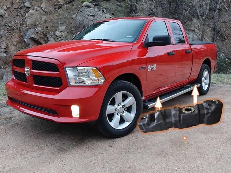 Dodge Ram 1500 Ecodiesel >> XXL Mid-Ship Fuel Tank 39 Gallon - 2014-2019 Dodge RAM ...