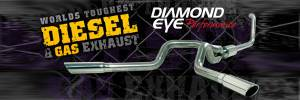 Exhaust Tips - 94-97 Ford 7.3L - Diamond Eye Exhaust Tips - 94-97 Ford 7.3L