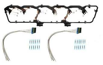 dodge cummins valve cover gasket kit with wiring harness