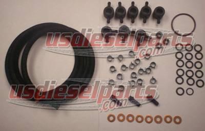 Injection Pump Injector Installation Kit 6.9L 7.3L IDI on conversion wiring harness, auto wiring harness, ford glow plug harness, e4od wiring harness, fuel tank wiring harness,