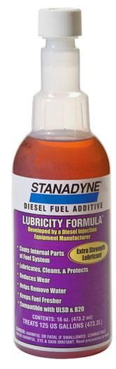 Stanadyne Lubricity Formula Lubricity
