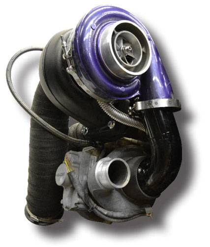 Garrett Twin Turbo Kit: ATS Aurora Plus 7500 Compound Turbo System