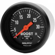Auto Meter Gauges - Auto Meter Z-Series Boost Gauge