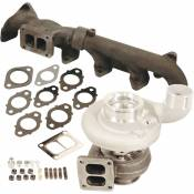 BD Diesel Performance - Iron Horn 6.7L Cummins Turbo Kit S363SXE/80 0.91AR Dodge 2007.5-2018
