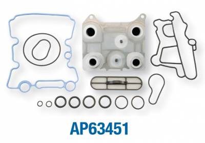 Alliant Power - Alliant Power - Engine Oil Cooler Kit - 03-07 Ford 6.0L