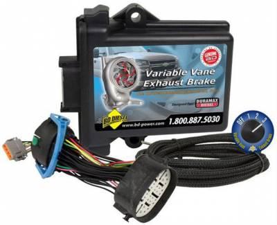 BD Diesel Performance - BD Variable Vane Exhaust Brake - 07-10 LMM Duramax