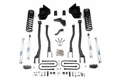 """BDS Suspension - 4"""" 4-Link Suspension Lift Kit - 13-18 Dodge RAM 3500 4WD Diesel"""