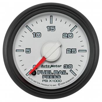 "Auto Meter Gauges - 2"" Rail Pressure - 0-30K PSI FSE - Cummins 5.9L - Dodge Factory Match"