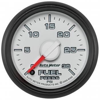 "Auto Meter Gauges - 2-1/16"" FUEL PRESS - 0-30 PSI - FSE -DODGE FACTORY MATCH"