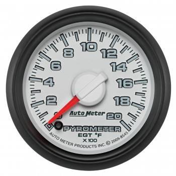 "Auto Meter Gauges - 2-1/16"" Pyrometer Kit - 0-2000`F - FSE - Dodge Factory Match"