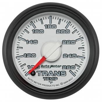 "Auto Meter Gauges - 2-1/16"" TRANS TEMP - 100-260`F - FSE -DODGE FACTORY MATCH"