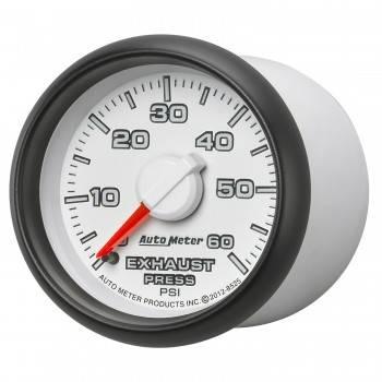 "Auto Meter Gauges - 2-1/16"" Exhaust Pressure - 0-60 PSI - MECH - DODGE FACTORY MATCH"