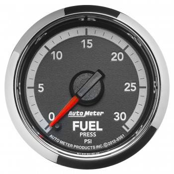 "Auto Meter Gauges - 2-1/16"" Fuel Pressure - 0-30 - FSE - Dodge 4th Gen"