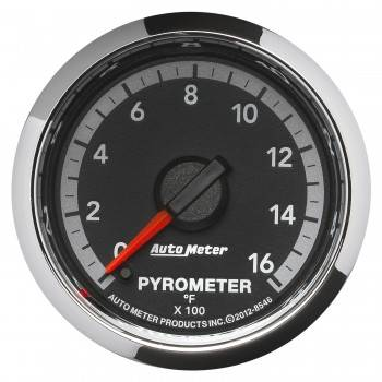 "Auto Meter Gauges - 2-1/16"" Pyrometer - 0-1600 - FSE - Dodge 4th Gen"