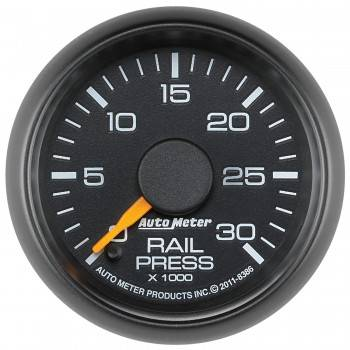 "Auto Meter Gauges - 2-1/16"" Rail Pressure - 0-30K PSI - FSE - CHEVY / GMC"