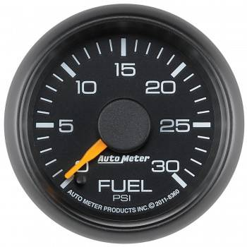 "Auto Meter Gauges - 2-1/16"" Fuel Pressure - 0-30 PSI - FSE - CHEVY / GMC"