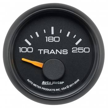 "Auto Meter Gauges - 2-1/16"" Transmission Temp - 100-250 Deg - SSE - CHEVY / GMC"